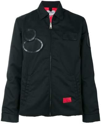 Carhartt patch detail zipped jacket