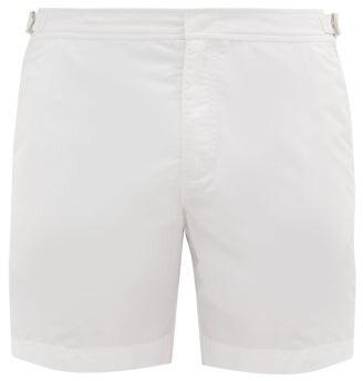 Orlebar Brown Bulldog Swim Shorts - Mens - White