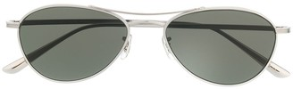 Oliver Peoples aviator frame sunglasses