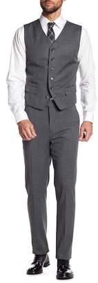 Ben Sherman Check Printed Trousers