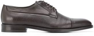 Canali textured derby shoes