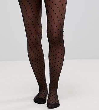 Asos DESIGN Maternity medium polka dot tights