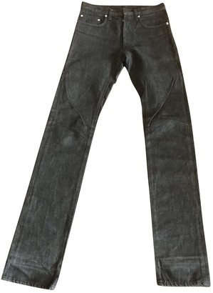 Christian Dior Anthracite Cotton - elasthane Jeans for Women