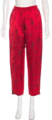 Giada Forte High-Rise Straight-Leg Pants