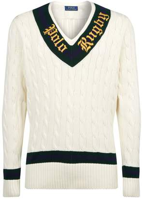Polo Ralph Lauren Knitted Rugby Cricket Sweater