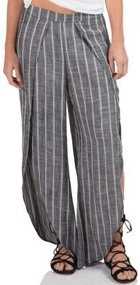Elan International Grey Wrap Pants