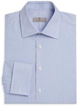 Canali Contemporary Fit Striped Dress Shirt