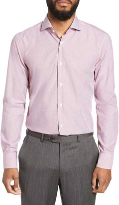 BOSS Jason Slim Fit Stripe Dress Shirt