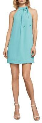 BCBGMAXAZRIA Doris Halter Shift Dress