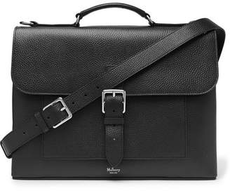Mulberry Chiltern Pebble-grain Leather Briefcase - Black 054ccba029a70