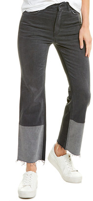 La Vie Rebecca Taylor Patch Grey Combo Straight Leg