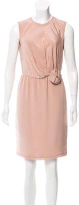 Blumarine Sleeveless Silk Dress