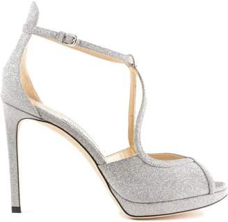Jimmy Choo Fine Glittered Sandals