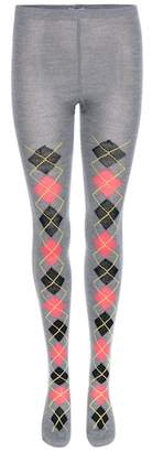 Prada Argyle wool tights