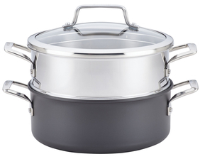 Anolon5QT. Authority Hard-Anodized Covered Dutch Oven
