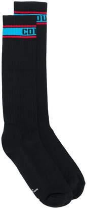 Marcelo Burlon County of Milan ribbed knit socks