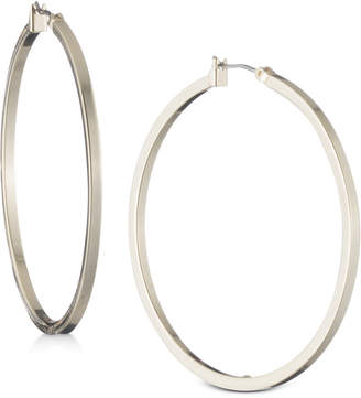 "DKNY 2"" Thin Hoop Earrings"