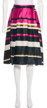 Trina Turk Printed Knee-Length Skirt