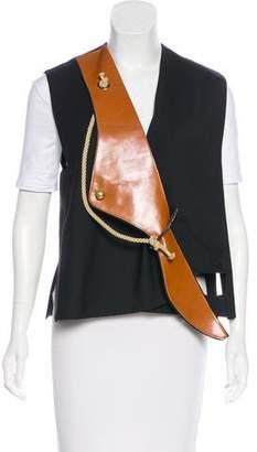 J.W.Anderson Wave Wool Vest