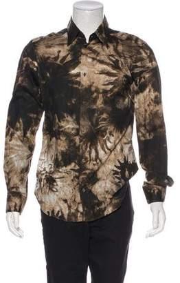 Just Cavalli Patterned Dress Shirt