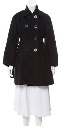 Zero Maria Cornejo Short Wool Coat