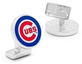 Cufflinks Inc. MLB Palladium Edition Chicago Cubs Cuff Links