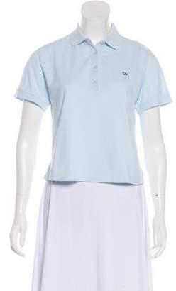 Outdoor Voices Short Sleeve Polo Top Short Sleeve Polo Top