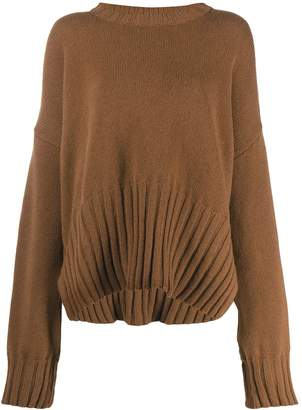 P.A.R.O.S.H. oversized knitted jumper