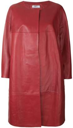 Desa Collection panelled cape coat