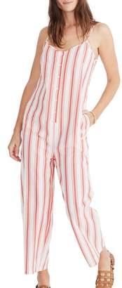Madewell Stripe Camisole Jumpsuit