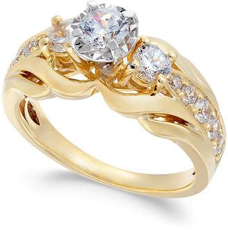 Macy's Diamond Engagement Ring (1 ct. t.w.) in 14k Gold