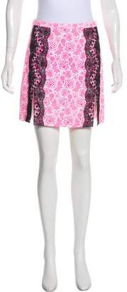 Christopher Kane Printed Mini Skirt