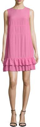 RED Valentino Women's Tiered Flounce Dress
