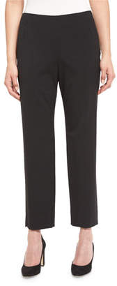 Lafayette 148 New York Stanton Cropped Pants, Plus Size
