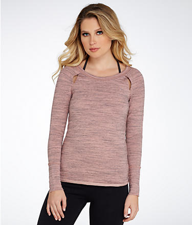Free People Peek-A-Boo Pullover Top