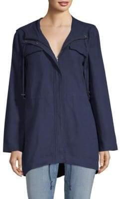 Eileen Fisher Hooded Anorak Jacket