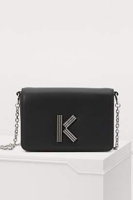 Kenzo K-bag crossbody leather bag