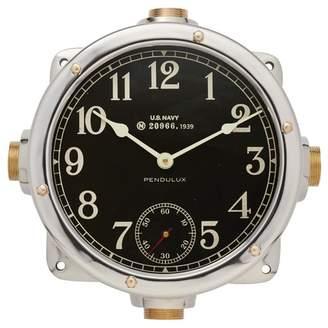 Pottery Barn Navy Master Clock