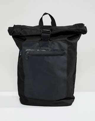 Ben Sherman roll top backpack