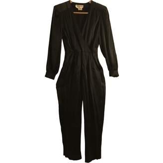 Pierre Cardin Black Silk Jumpsuit for Women