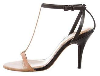 3.1 Phillip Lim Leather T-Strap Sandals