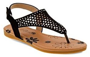 Petalia Toddler Girls' Cutout Slingback Sandals $28.99 thestylecure.com