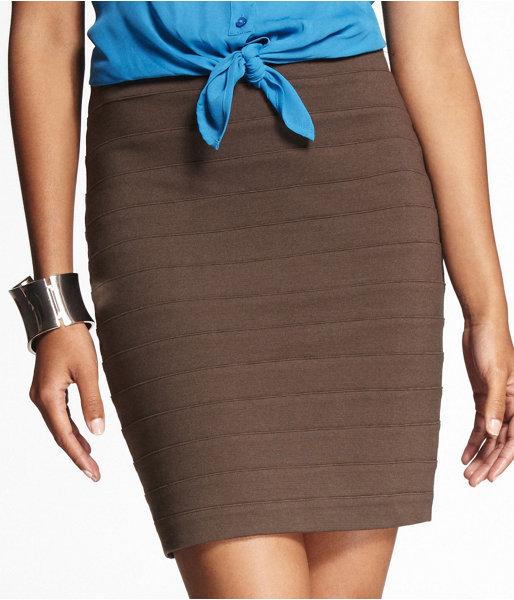 High-Waist Bandage Skirt