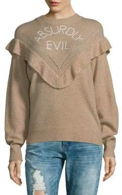 Wildfox Couture Absurdly Evil Sweater
