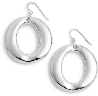 Simon Sebbag Round Open Wire Hoop Earrings