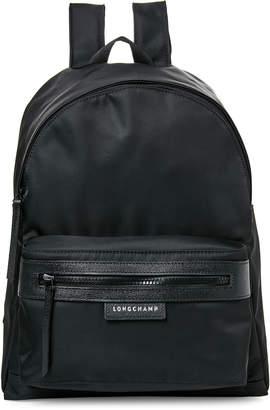 Longchamp Black Le Pliage Nylon Backpack