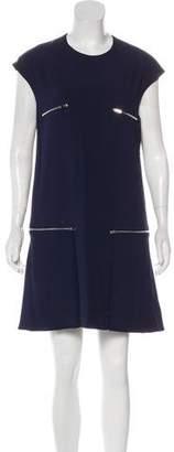Stella McCartney Sleeveless Shift Mini Dress