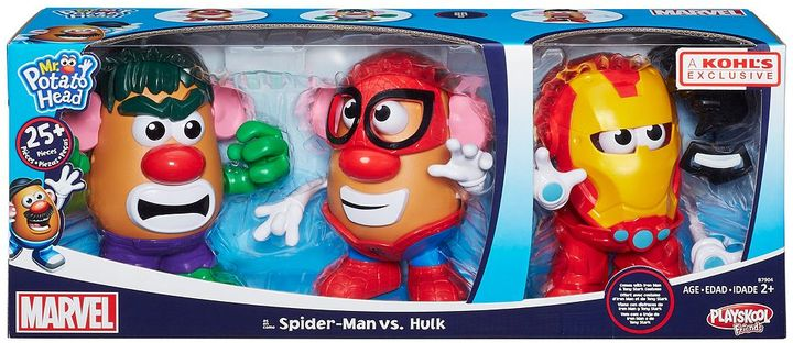 Playskool Mr. Potato Head Marvel Spider-Man vs. Hulk Playset by Playskool