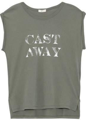Joie Edeline Printed Pima Cotton-jersey T-shirt