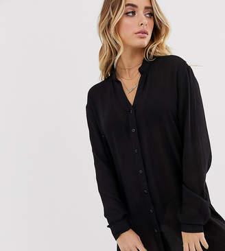 South Beach beach shirt in black
